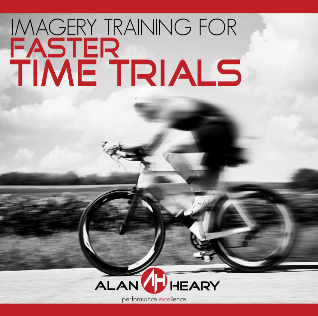 Imagery Training for faster Time Trials